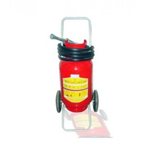Bình chữa cháy bột BC 35kg có xe đẩy