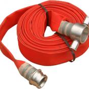 Vòi chữa cháy cao su màu đỏ