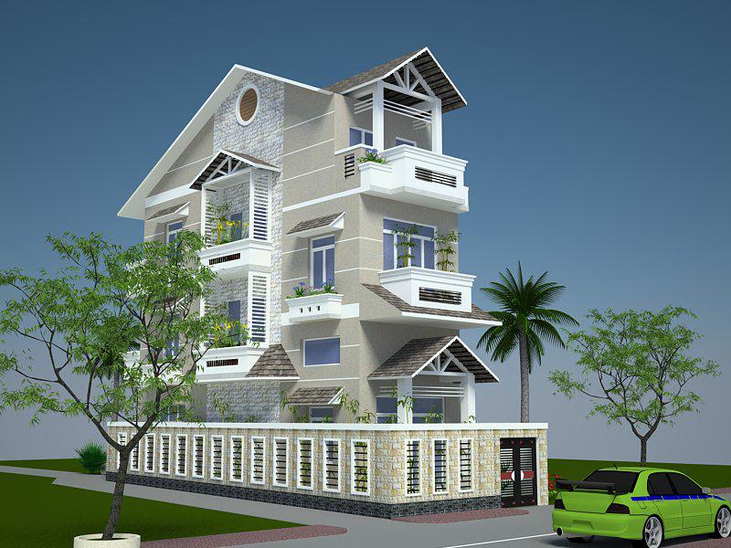 Tư vấn cách xây dựng nhà đẹp trên mảnh đất méo